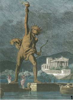H anaviwsh toy Kolossoy ths Rodoy- Reviving the ancient wonder of Colossus of Rhodes